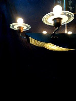 Visualizza altre idee su ebay, lampadario vintage, vintage. Lampadario In Vetro Di Murano Anni 30 In Vendita Su Pamono