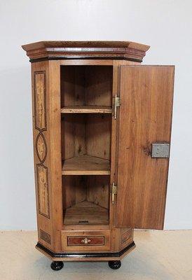 petit meuble d angle antique en chene
