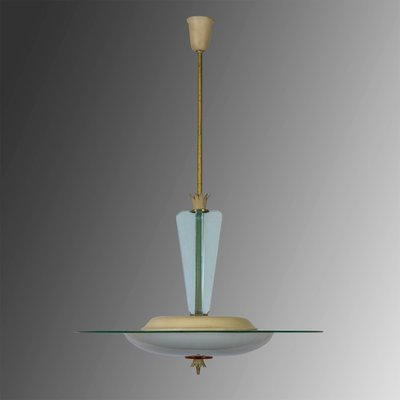 Mit weltweitem versand bei pamono bestellen. Glass Ceiling Lamp By Gio Ponti For Fontana Arte 1930s For Sale At Pamono