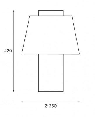 modern art table lamp by yki nummi for innolux