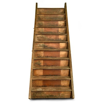 Wooden Stairs 1940S For Sale At Pamono   Wood Stairs For Sale   Cheap   Trailer   Open Tread   Landing   Wooden