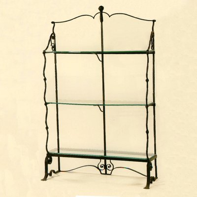 wrought iron etagere from umberto bellotto 1912