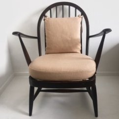 Vintage Arm Chair Black Aluminium Garden Chairs Armchair By Lucian Ercolani For Ercol Sale At Pamono 1