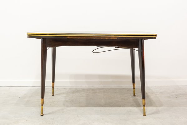 coffee or dining table with adjustable height 1960s