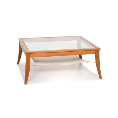 wooden coffee table from ligne roset