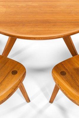 swedish coffee table by carl malmsten for svensk fur 1950s