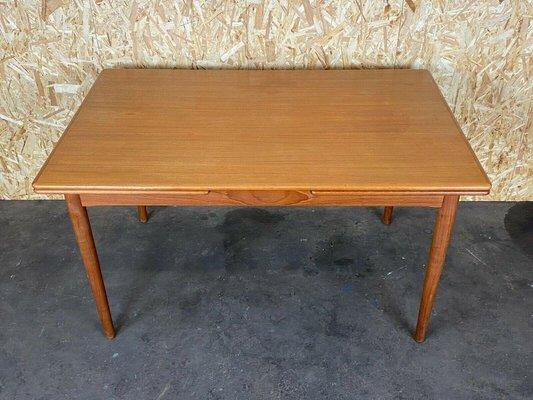 danish modern teak dining table 1960s