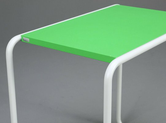 bauhaus green b9 d classic coffee table by marcel breuer for thonet