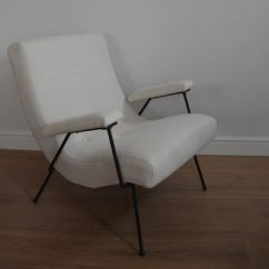 Adrian Pearsall Lounge Chair Orange Beach White By For Sale At Pamono