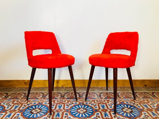 red chairs for sale office best buy vintage set of 2 at pamono 1