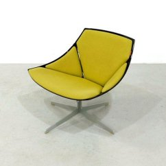 Jehs Laub Lounge Chair Blue Slipper With Silver Studs Space Age By For Fritz Hansen 2008 Sale 4