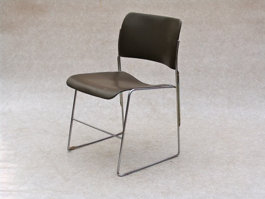 david rowland metal chair telescopic camping chairs stackable by for sale at pamono