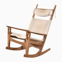Hans Wegner Rocking Chair Chicco Polly High Babies R Us Buy Chairs By J At Pamono Ge673 For Getama 1970s