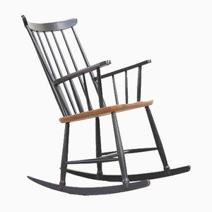 Rocking Chairs Vintage Par Ilmari Tapiovaara Pour Fanett