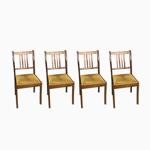 cafe chairs wooden slipper ikea vintage bistro chair from luterma for sale at pamono teak 1970s set of 4