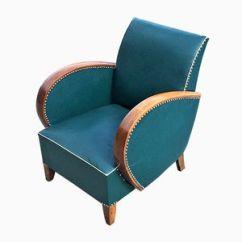 Teal Club Chair Wedding Chairs Hire Birmingham Buy Unique Online Pamono Shop Vintage Art Deco 1930s