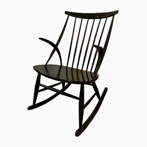 black rocking chair wheelchair knee discover vintage chairs online at pamono by illum wikkelso for niels eilersen 1950s