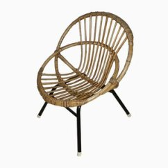 Childs Rattan Chair Bar Stool Chairs Ikea Shop Children S Online At Pamono From Rohe Noordwolde 1960s