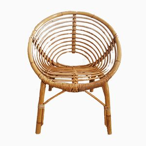 childs rattan chair victorian balloon back shop children s chairs online at pamono mid century 1960s
