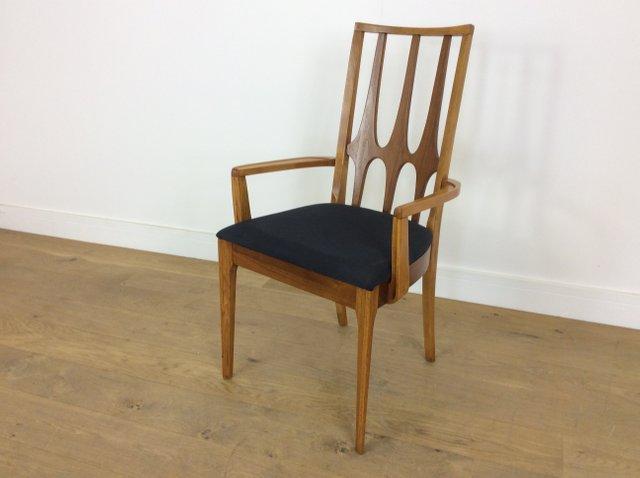 chaises de salle a manger brasilia mid century de broyhill 1962 set de 6 en vente sur pamono