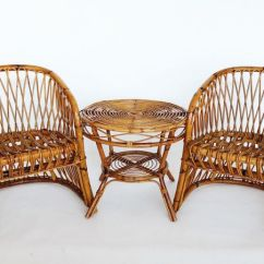 Bamboo Chairs Foldable Makeup Chair Italian And Table By Vittorio Bonacina 1960s For Sale At Pamono