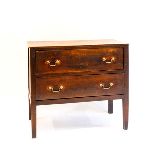 antique dresser with two