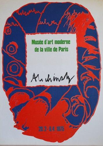 Musée D Art Moderne De La Ville De Paris Paris : musée, moderne, ville, paris, Musée, D'art, Moderne, Ville, Paris, Poster, Pierre, Alechinsky,, Pamono
