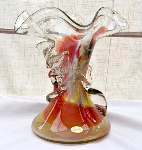 vintage vase von le palais du verre