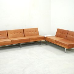 Herman Miller Modular Sofa Living Room Furniture Sofas In Mumbai Cognac Leather Set By George Nelson For