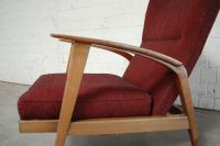 Reclining Wingback Chair from Knoll, 1965 for sale at Pamono
