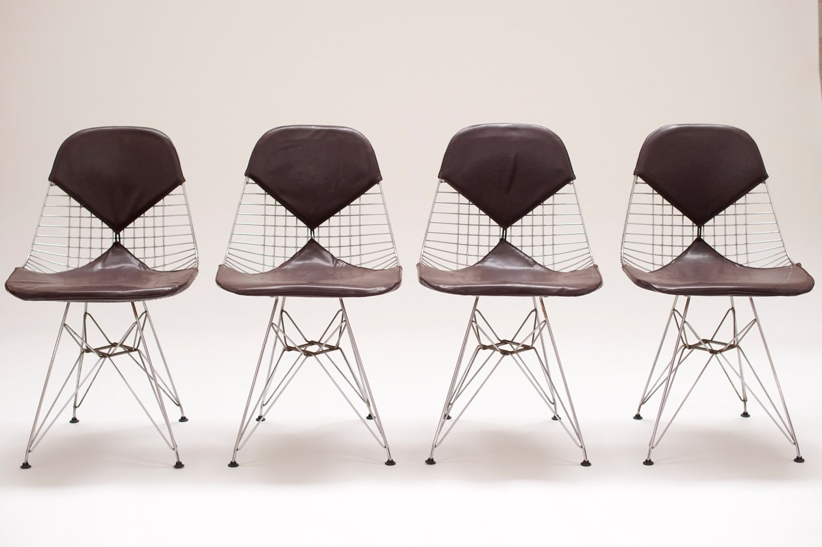 DKR2 Chairs by Charles  Ray Eames for Herman Miller