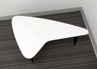 Mid-Century Modern Boomerang Table, 1950s for sale at Pamono