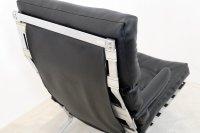 Mid-Century Belgian Chrome High-Back Lounge Chair, 1970s ...