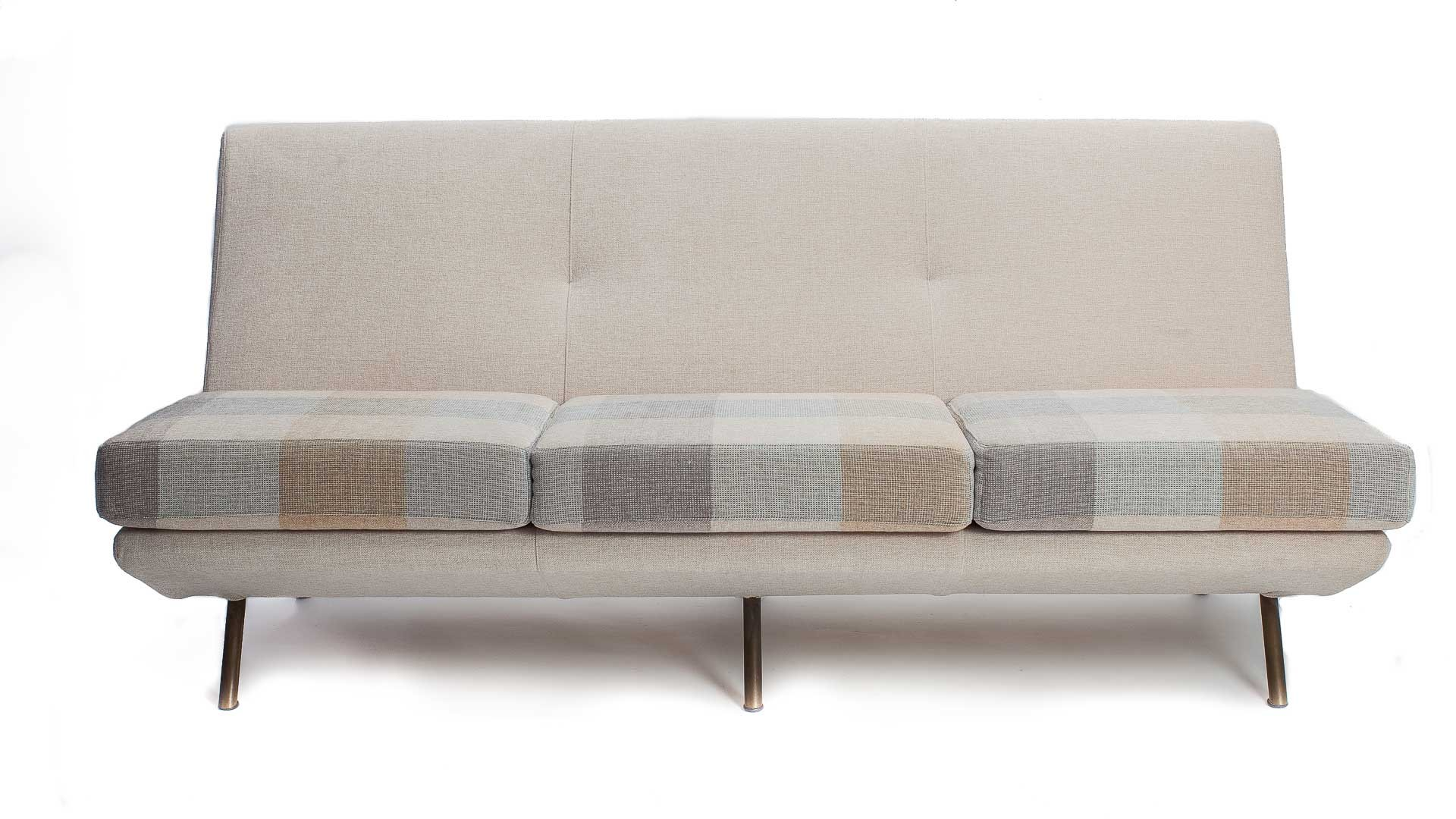 marco cream chaise sofa by factory outlet queen bed with storage italian triennale zanuso for arflex 1951 sale at