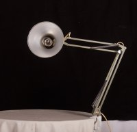 Small Grey Desk Lamp from Luxo for sale at Pamono