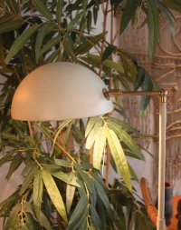 Vintage White Floor Lamp for sale at Pamono