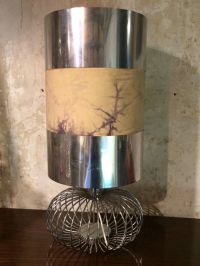 Vintage Steel Table Lamp for sale at Pamono
