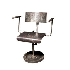 Metal Armchair Salon Hydraulic Chair Philippines Industrial Polish 1950s For Sale At Pamono Price Per Piece