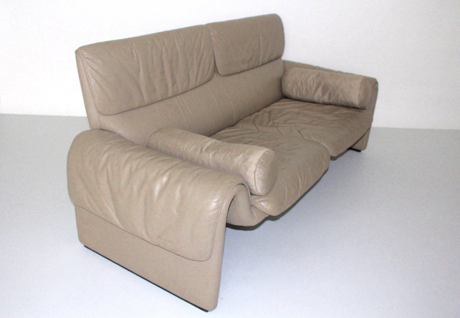 de sede sofa vintage kuka hong kong ds 2011 leather from 1980s for sale