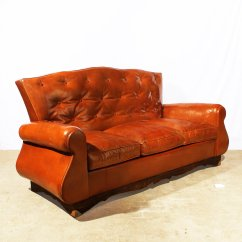 A Sofa In The Forties Eco Canada Chesterfield Style 1940s For Sale At Pamono
