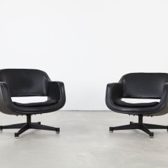 Office Club Chairs Kitchen Table Set Of 4 Finnish Swivel By Eero Aarnio For Asko 1960s 2 Price Per