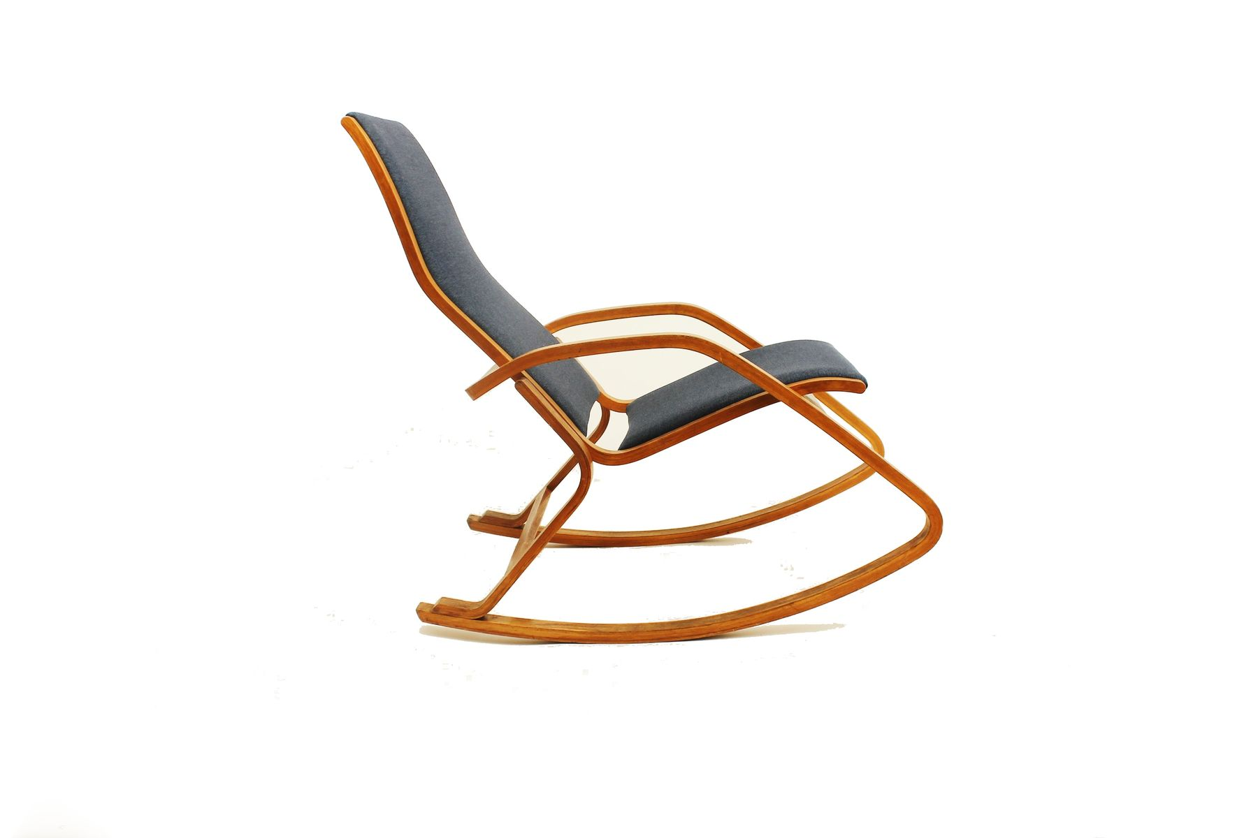 bent wood rocking chair office officeworks czech bentwood from np drevona 1970s for sale at pamono