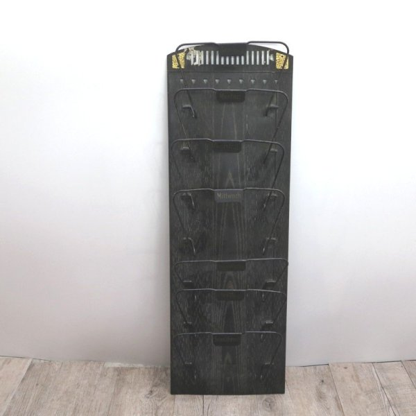 Art Deco German Metal And Letter Rack 1930s