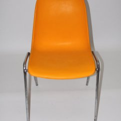 Orange Side Chair Childrens Sleeper Chairs Vintage 1970s For Sale At Pamono
