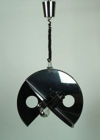 Italian Spherical Pendant Light, 1970s for sale at Pamono