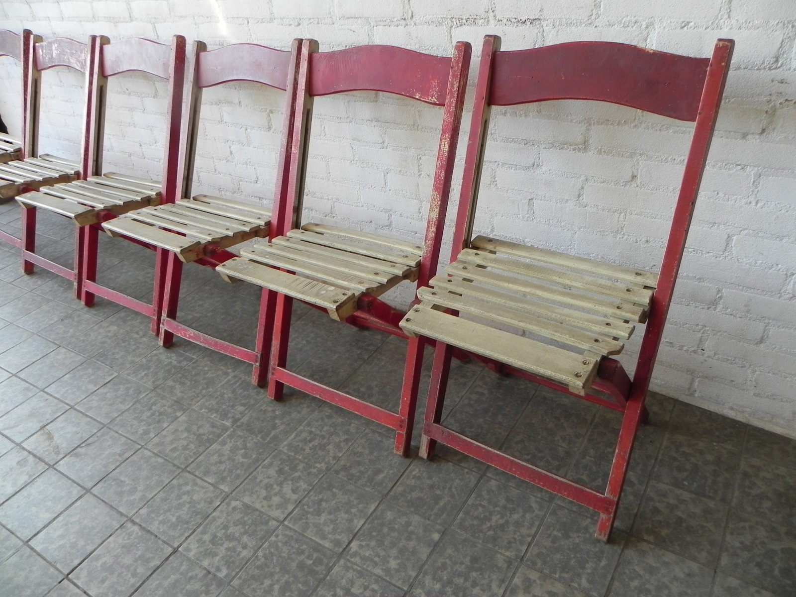 Where To Buy Folding Chairs Wooden Folding Chairs 1940s Set Of 6 For Sale At Pamono