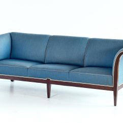 A Sofa In The Forties Removal Leeds Mahogany From Frits Henningsen 1940s For Sale At Pamono