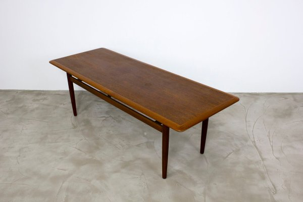 Danish Modern Teak Coffee Table 1960s Pamono
