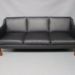 Mogensen Sofa 2209 Living Room With Black Leather Ideas Bm 3 Seater By Børge For Fredericia