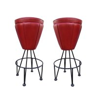 Wrought Iron Bar Stool, 1970s for sale at Pamono
